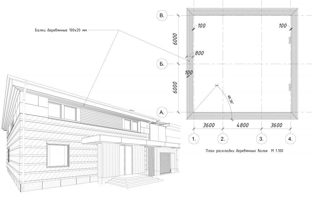 Дизайн Фасада 6 Перспектива 2