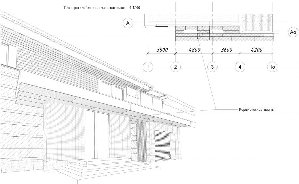 Дизайн Фасада 6 Перспектива 3