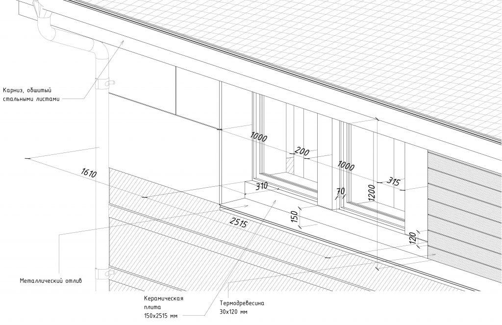 Дизайн Фасада 6 Перспектива 4
